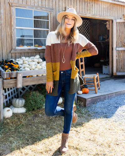 Fall Nights Cardigan - Multi
