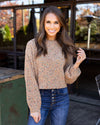 Feel So Carefree Sweater - Tan