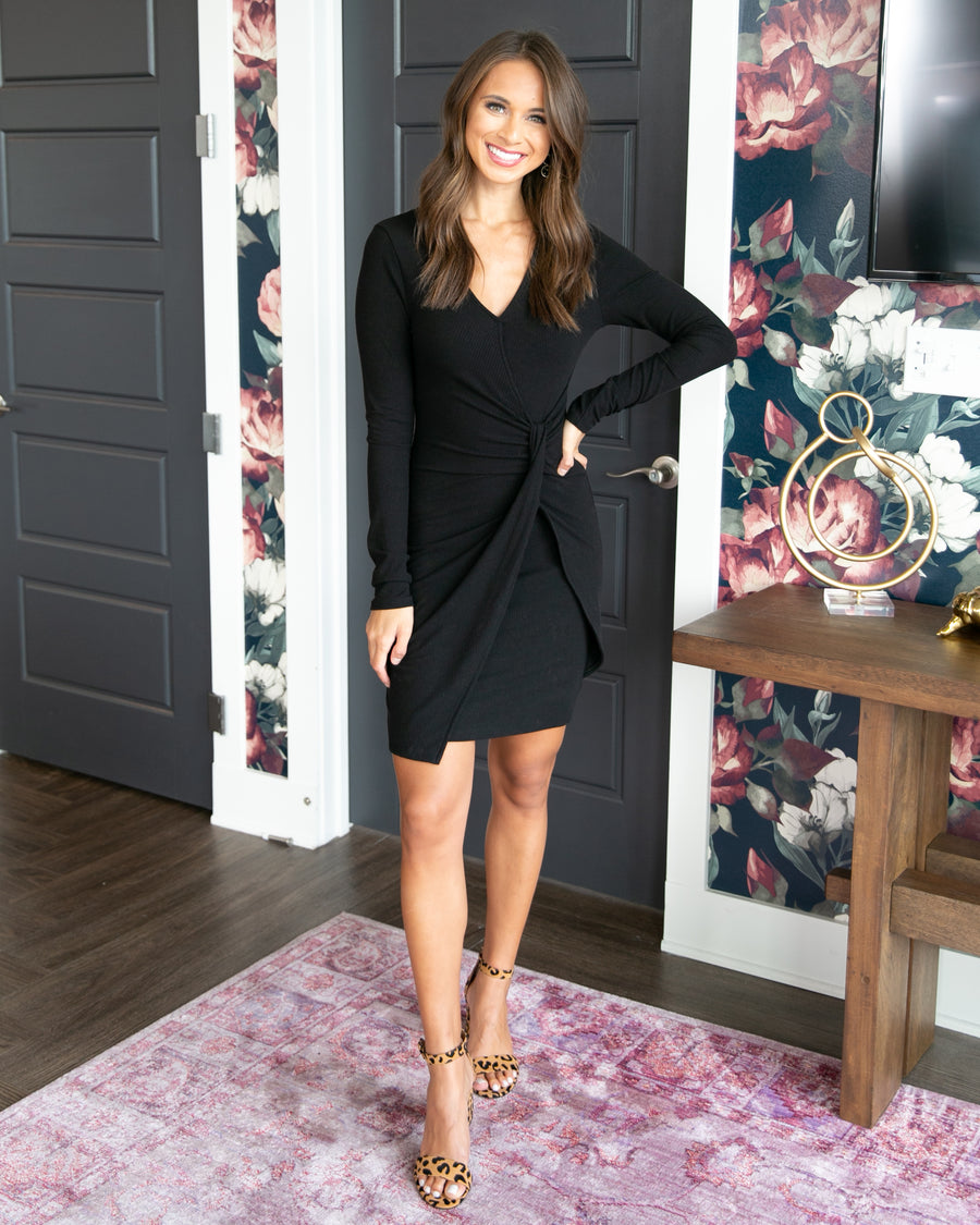 Feeling Flirty Dress - Black