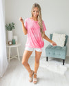 Feeling Groovy Top - Pink