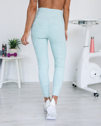 Finding Motivation Leggings - Mint