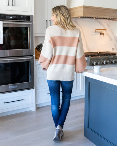 Finding My Own Way Sweater - Salmon