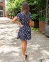 Forget Me Not Dress - Navy