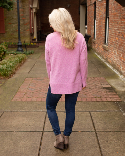 Full Of Surprises Sweater - Pink