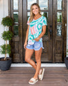 Fun For The Summer Top - Tie Dye