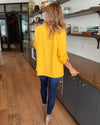 Girl Boss Blazer - Mustard