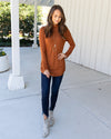 Go Better Together Tunic - Burnt Orange