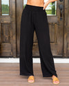 Go With The Flow Pants - Black