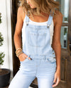 Golden Hour Overalls - Light Wash