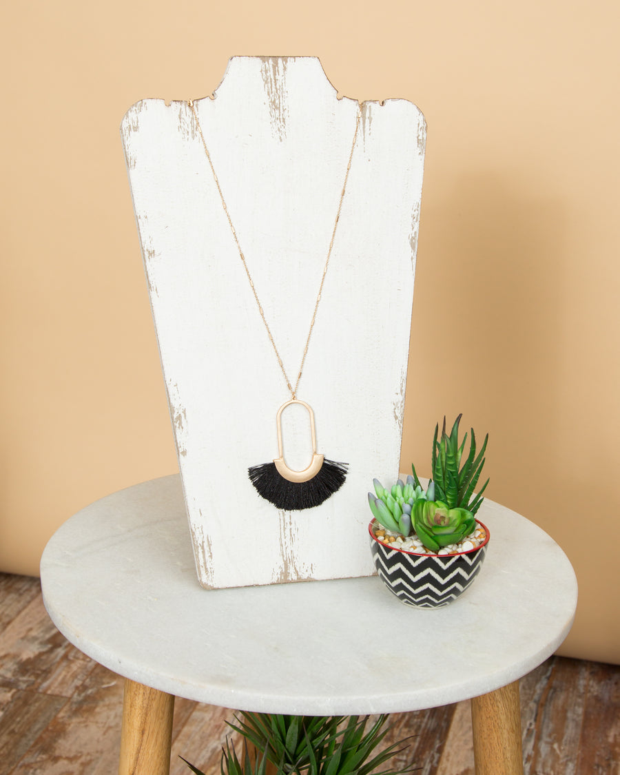 Grayson Necklace - Black