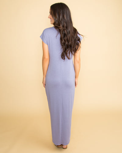 Here Forever High Low Maxi - Lilac