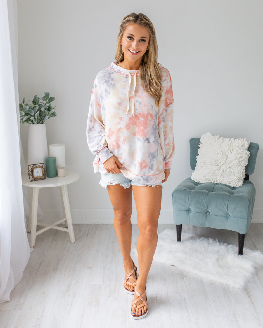 Hang Loose Tie-Dye Top - Multi