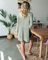 Happiest Of Hours Cardigan - Olive