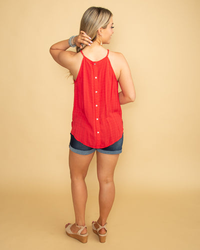 Happy Hour Tank - Red