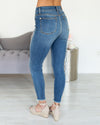 Haven Distressed Skinny Jeans - Medium Wash