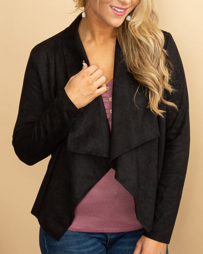 Having A Good Time Jacket - Black