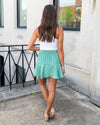 Head Over Heels Skirt (With Shorts) - Mint