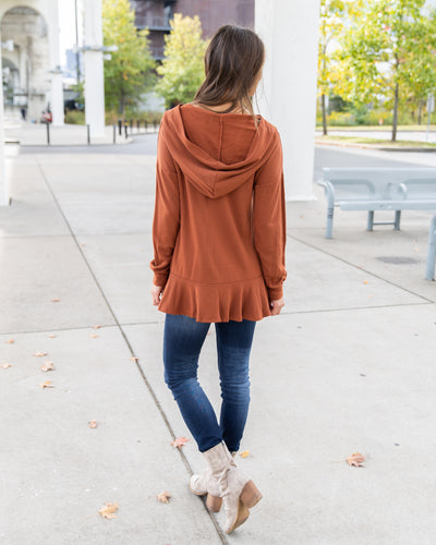 Heart Of The City Top - Rust