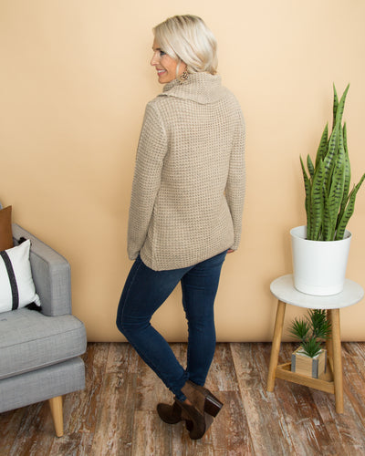 Higher Ground Sweater - Taupe