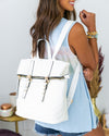 Hunter Backpack - White