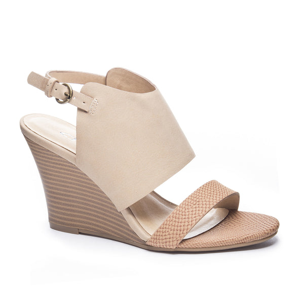 Chinese Laundry Karina Wedge - Tan/Nude