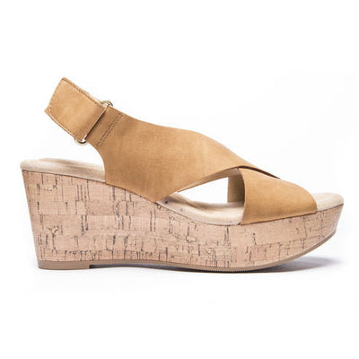 Avery Wedge - Cognac