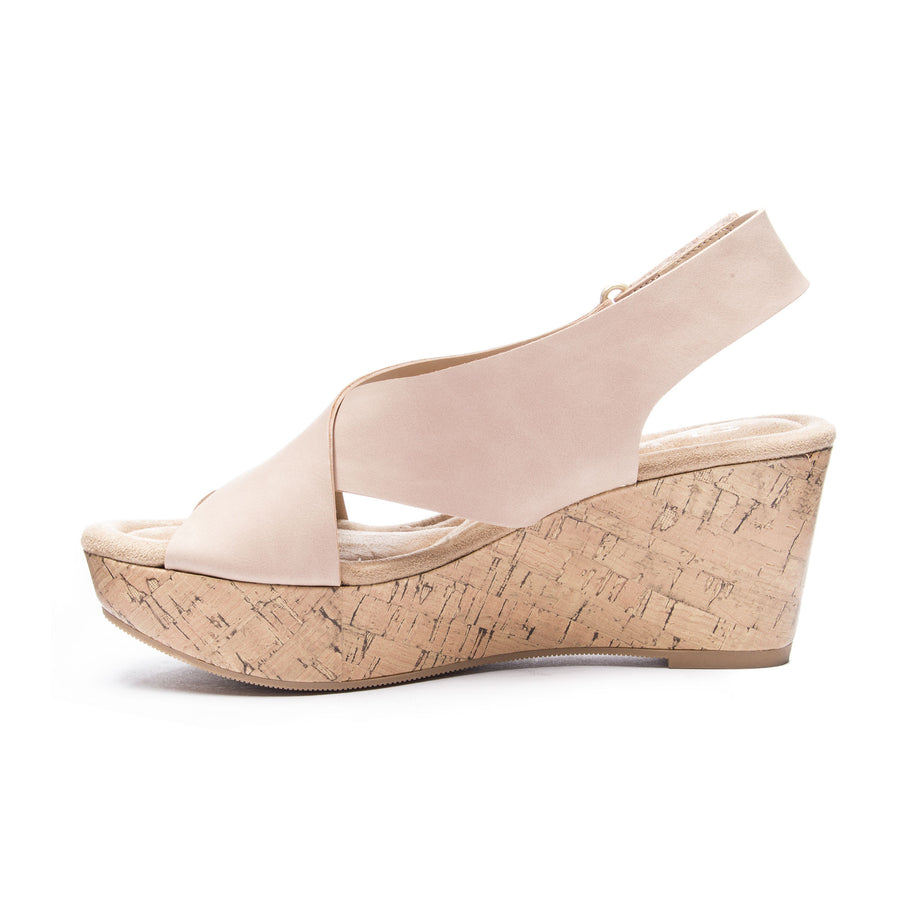 Chinese Laundry Avery Wedge - Blush