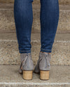 Dirty Laundry Harley Booties - Heather Grey