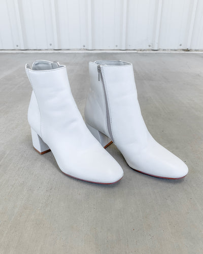 Chinese Laundry Cooper Booties - White