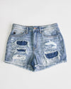 Everett Shorts - Medium Wash