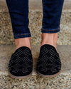 Not Rated Brandi Studded Mules - Black