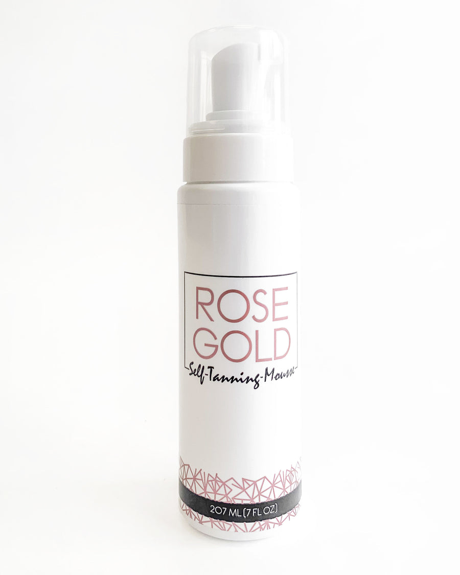 Rose Gold Tanning Mousse