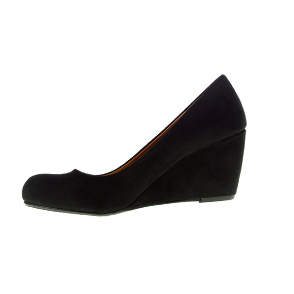 Chinese Laundry Nima Wedge Pump - Black