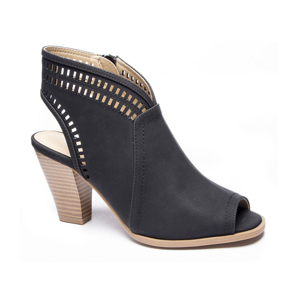 Chinese Laundry Rylie Peep Toe Bootie - Black