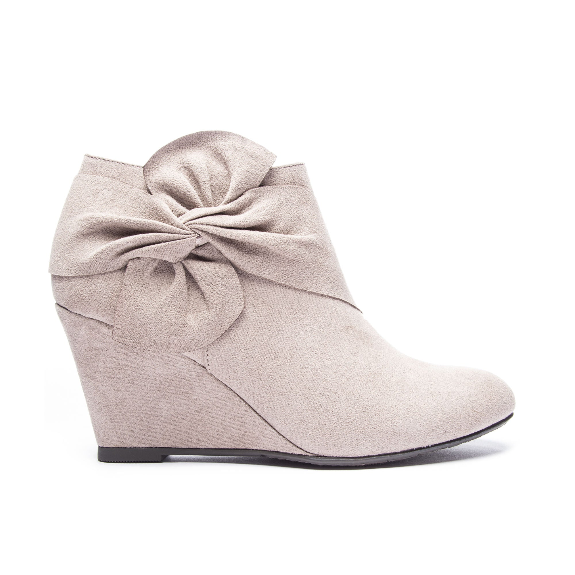 7efc3dbf43b2 Chinese Laundry Vivid Wedge Bootie - Taupe - Eleven Oaks Boutique