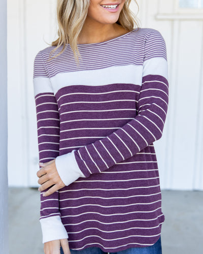 Important To Me Top - Plum