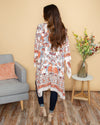 It Was Just A Crush Floral Kimono - Multi