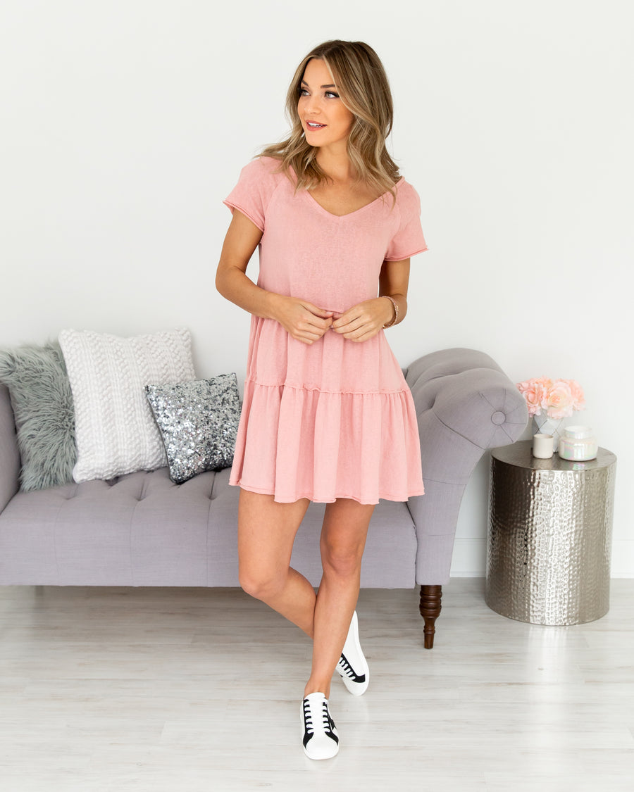 It's Your Lucky Day Dress - Pink