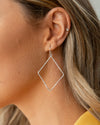 Jaxie Earrings - Silver