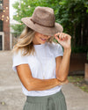 Jennings Straw Hat - Brown