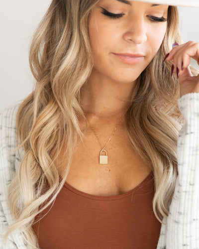 Jenny Necklace - Gold