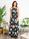 Everly Love At Last Maxi Dress - Charcoal