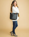 Kallie Tote Bag - Black
