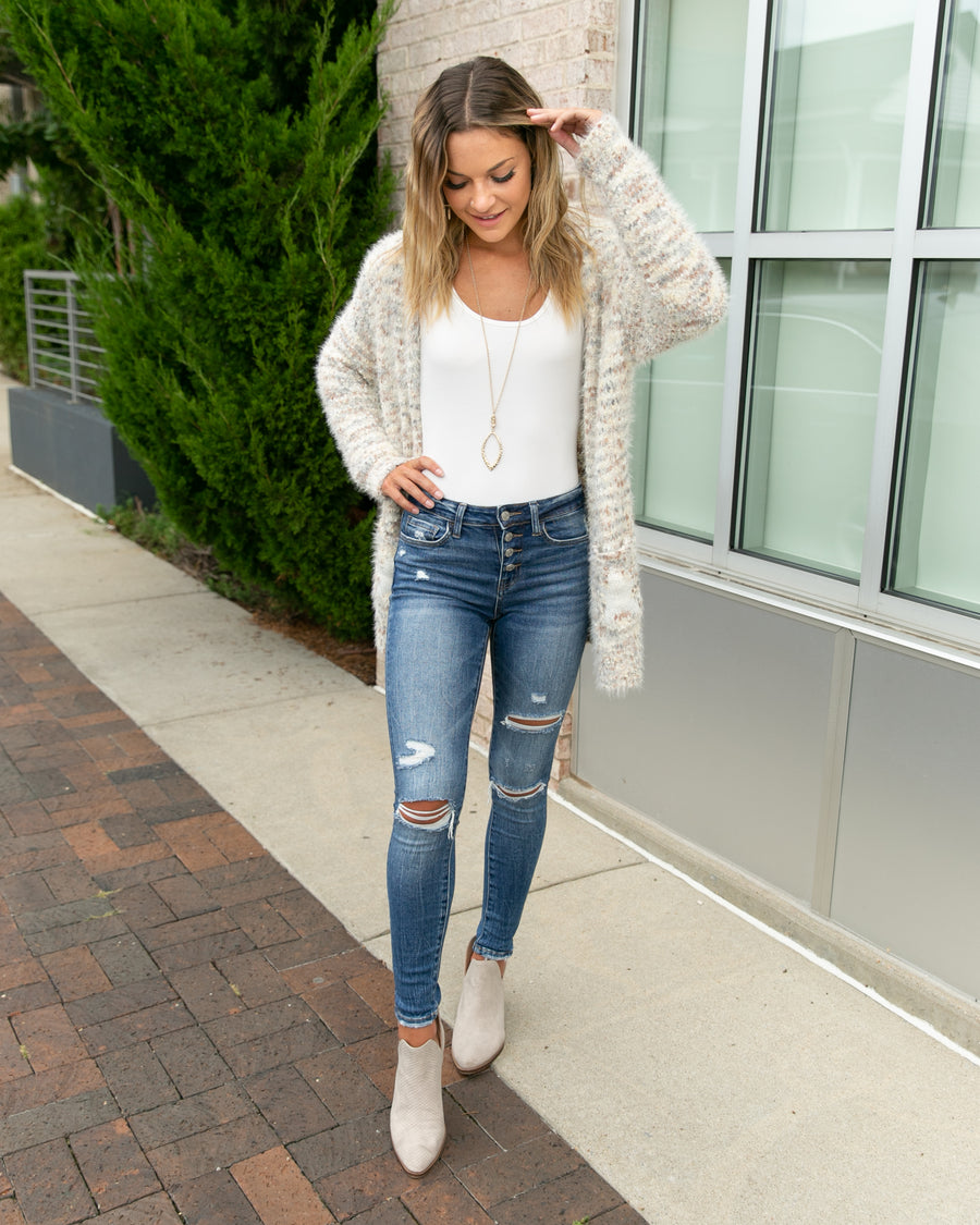 Keep Me Cozy Cardigan - Ivory