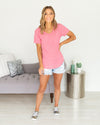 Keep Things Casual Top - Pink