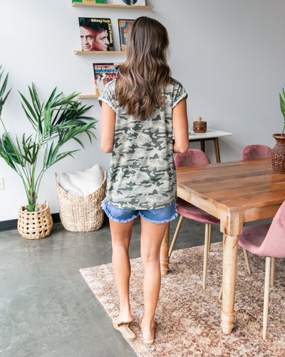 Keeping It Cool Top - Camo