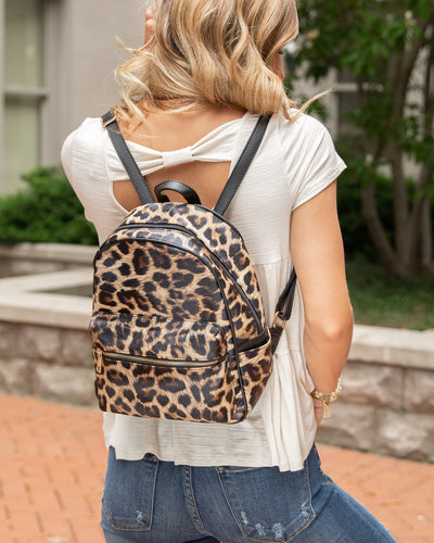 Kimberly Backpack - Leopard