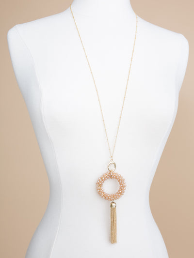 Kora Pendant Necklace - Ivory