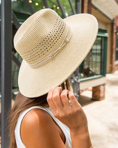 Lainey Straw Hat - Natural