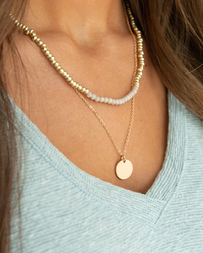 Landry Necklace - Ivory